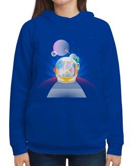 """Толстовка с полной запечаткой """"Братья по разуму"""" - звезды, космос, наука, астрономия, the spaceway"""