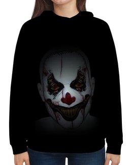 """Толстовка с полной запечаткой """"Клоун убийца"""" - страх, фильм, ужасы, клоун, убийца"""