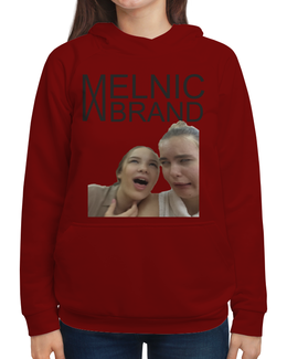 """Толстовка с полной запечаткой """"MELNIC BRAND"""" - casual, mood, melnic brand"""