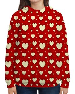 """Толстовка с полной запечаткой """"Сердце"""" - любовь, сердца, день святого валентина, сердечки, я люблю"""