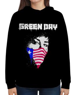 """Толстовка с полной запечаткой """"Green Day"""" - green day, грин дэй, группы, панк, рок"""