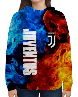 """Толстовка с полной запечаткой """"JUVENTUS SPORT"""" - футбол, италия, спорт, ювентус, juventus"""