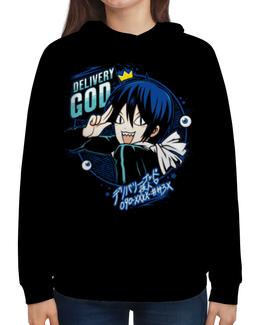 """Толстовка с полной запечаткой """"Бездомный бог"""" - аниме, манга, noragami, бездомный бог, норагами"""