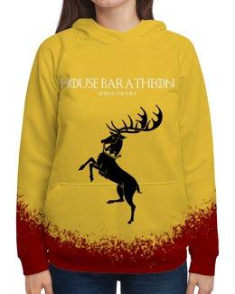 """Толстовка с полной запечаткой """"House Baratheon"""" - сериал, игра престолов, game of thrones, баратеоны, baratheon"""
