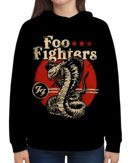 """Толстовка с полной запечаткой """"Foo Fighters"""" - рок, группы, foo fighters, дейв грол"""