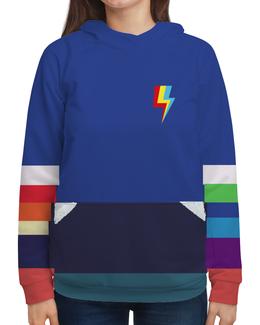 """Толстовка с полной запечаткой """"Rainbow Dash """" - rainbow dash, эквестрия, радуга дэш, equestria girls, гёрлз"""