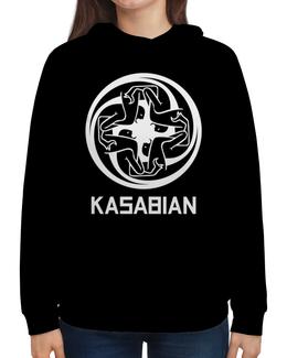 """Толстовка с полной запечаткой """"Kasabian"""" - музыка, kasabian, касабиан, рок группы, касейбиан"""