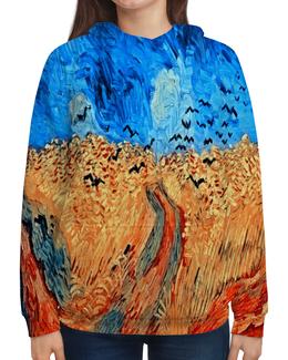 """Толстовка с полной запечаткой """"Живопись"""" - картина, акварель, художник, живопись, брызги красок"""