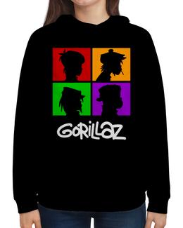 """Толстовка с полной запечаткой """"Gorillaz"""" - gorillaz, гориллаз, музыка, группы"""