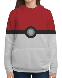 """Толстовка с полной запечаткой (Женская) """"Pokemon GO """" - pokemon, покемрн"""