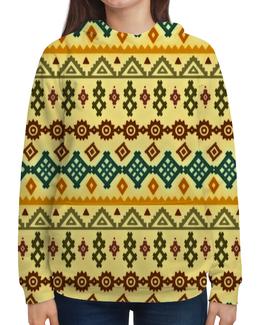 """Толстовка с полной запечаткой """"Этнический узор"""" - узоры, этнический, народный, geometric, decorative"""