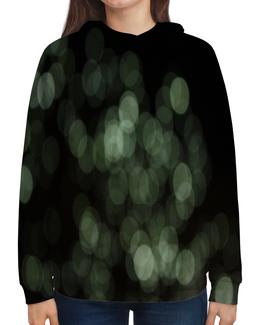 """Толстовка с полной запечаткой """"Световые блики"""" - свет, круги, блики, блеск, солнечные зайчики"""