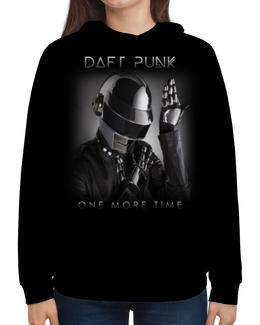 """Толстовка с полной запечаткой """"Daft Punk"""" - музыка, хаус, электроника, daft punk, дафт панк"""