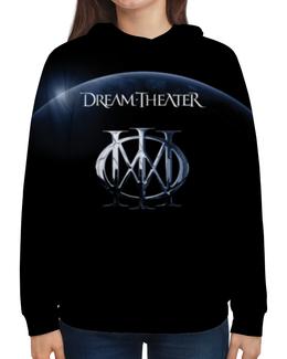 "Толстовка с полной запечаткой ""Dream Theater"" - dream theater, музыка, метал, группы, heavy metal"