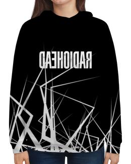 "Толстовка с полной запечаткой ""Radiohead"" - музыка, рок, группы, radiohead, радиохед"