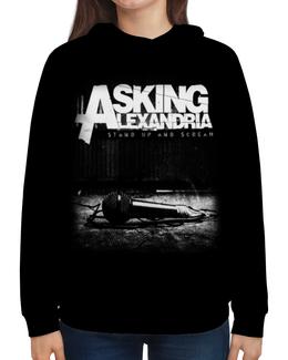 """Толстовка с полной запечаткой """"Asking Alexandria"""" - музыка, рок, группы, asking alexandria, аскинг александриа"""