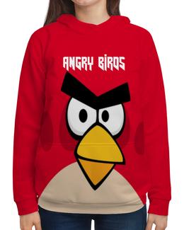 """Толстовка с полной запечаткой """"Angry Birds (Terence)"""" - terence, компьютерная игра, игры, angry birds, птички"""