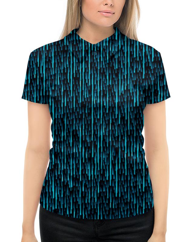Рубашка Поло с полной запечаткой Printio Абстрактный узор рубашка поло с полной запечаткой printio весенний узор