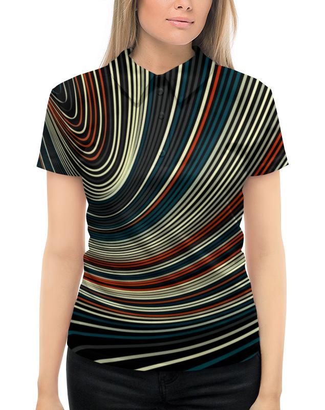 Printio Линии цветные рубашка поло с полной запечаткой printio яркие линии