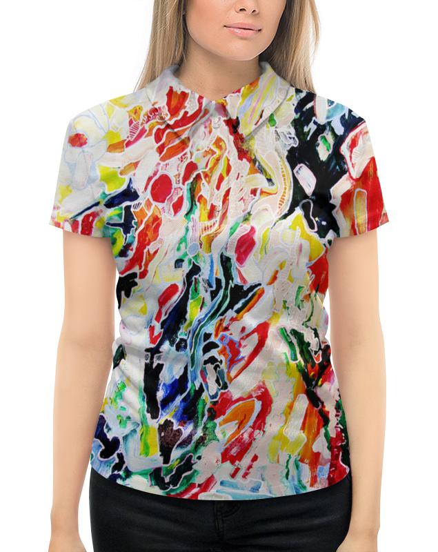 Рубашка Поло с полной запечаткой Printio Женское  мы