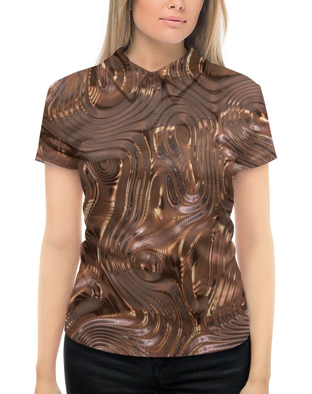 Рубашка Поло с полной запечаткой Printio Золотой шелк юбка в складку printio золотой шелк
