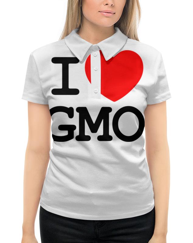 Рубашка Поло с полной запечаткой Printio I love gmo рубашка поло с полной запечаткой printio dogs love art