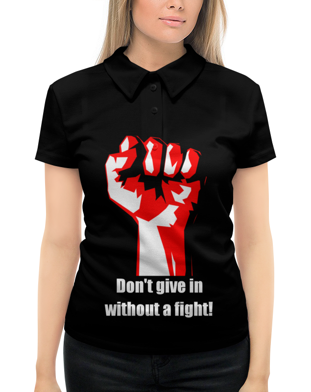 Рубашка Поло с полной запечаткой Printio Битва. драка. fight. бойцовский клуб свитшот унисекс с полной запечаткой printio битва драка fight бойцовский клуб