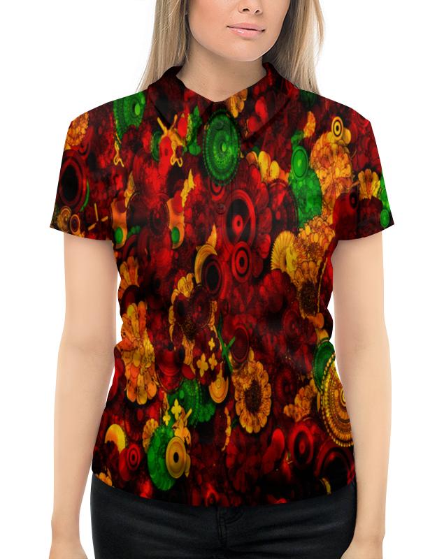 Рубашка Поло с полной запечаткой Printio Цветочная поляна борцовка с полной запечаткой printio цветочная поляна