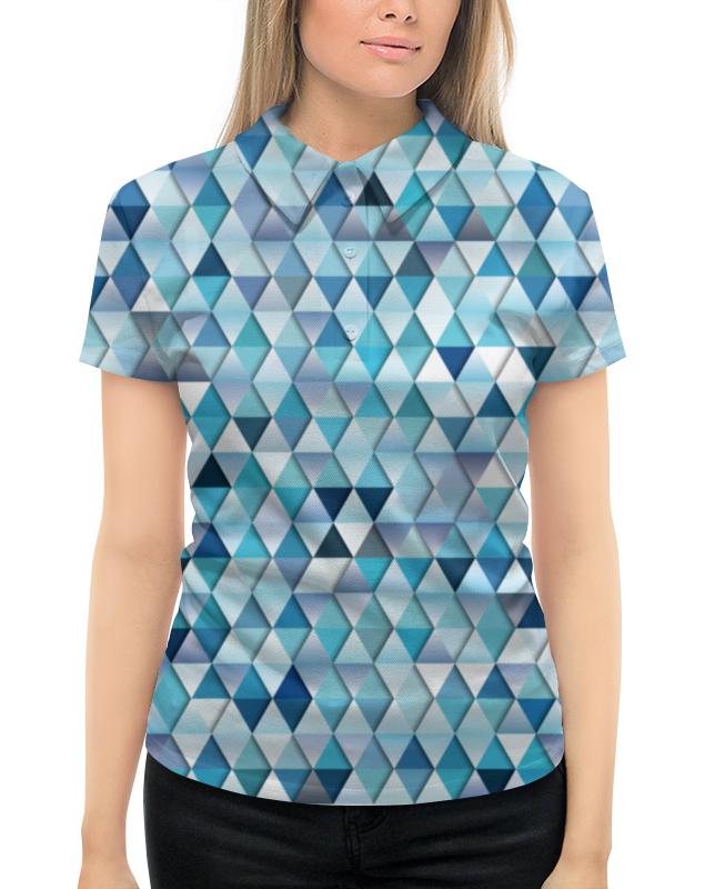 Рубашка Поло с полной запечаткой Printio Геометрический узор рубашка поло с полной запечаткой printio весенний узор