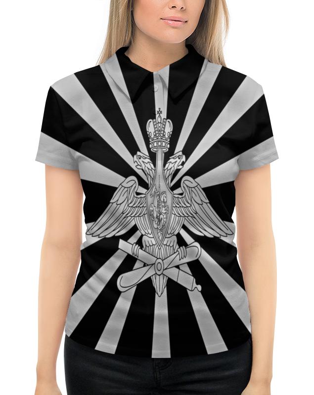 Рубашка Поло с полной запечаткой Printio Герб россии