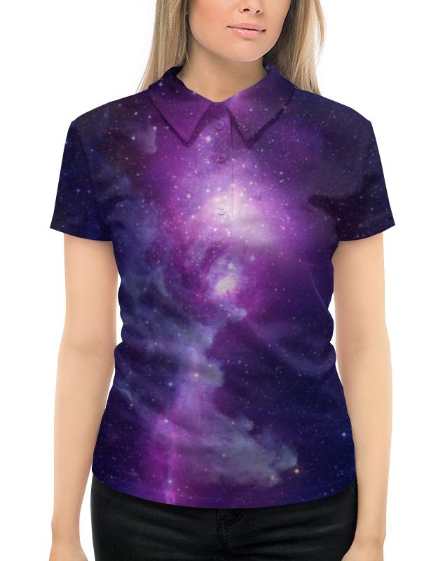 Рубашка Поло с полной запечаткой Printio Космос картридж canon pgi 520bk для pixma ip3600 ip4600 mp540 mp620 mp630 mp980 черный двойная упаковка