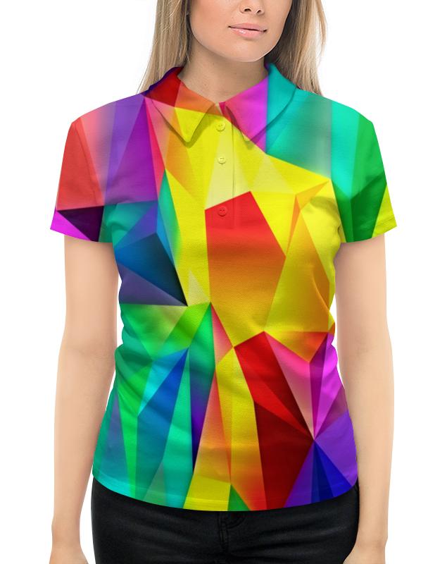 Рубашка Поло с полной запечаткой Printio Абстрактный узор рубашка поло с полной запечаткой printio вязаный узор