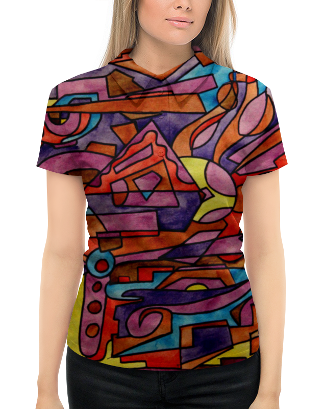 Рубашка Поло с полной запечаткой Printio Dz,p9////o`fv свитшот мужской с полной запечаткой printio dz p9 o fv