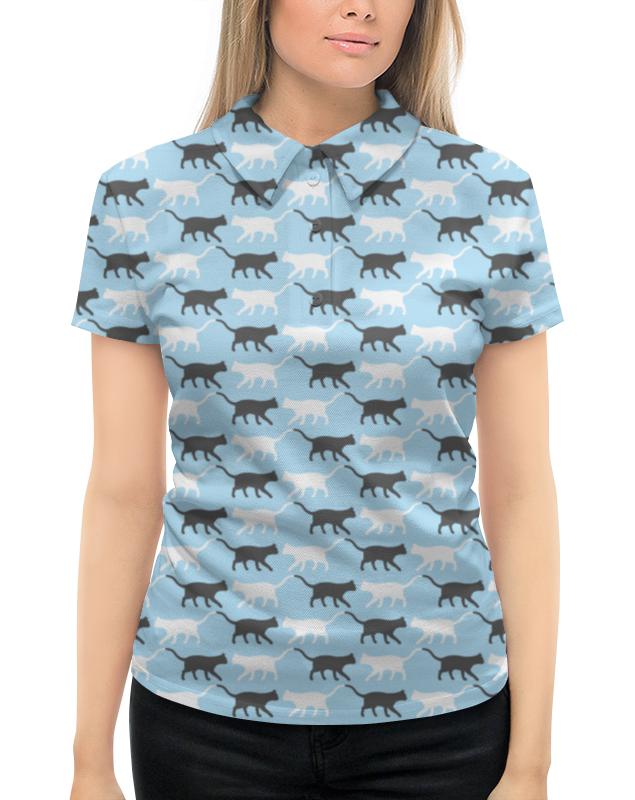 Рубашка Поло с полной запечаткой Printio Котики рубашка поло printio фк нефтехимик