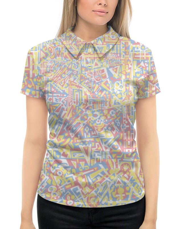 Рубашка Поло с полной запечаткой Printio Plppgtysxxx132 printio рубашка поло с полной запечаткой