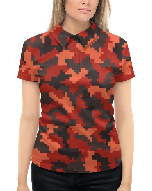 Рубашка Поло с полной запечаткой Printio Защитник