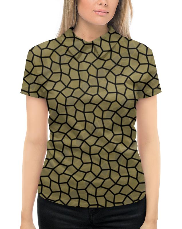 Фото - Рубашка Поло с полной запечаткой Printio Медовая мозаика рубашка поло с полной запечаткой printio meltdown няша