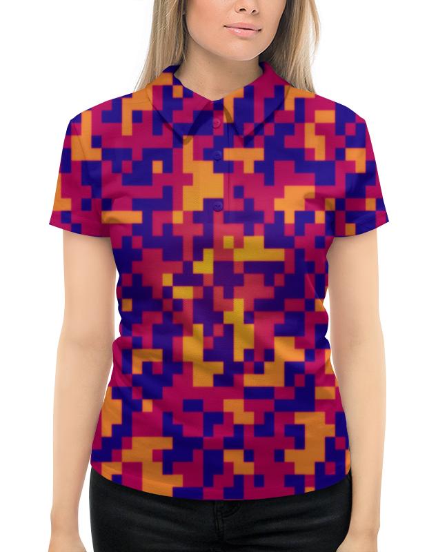 Рубашка Поло с полной запечаткой Printio Camouflage xintown camouflage winter long sleeved