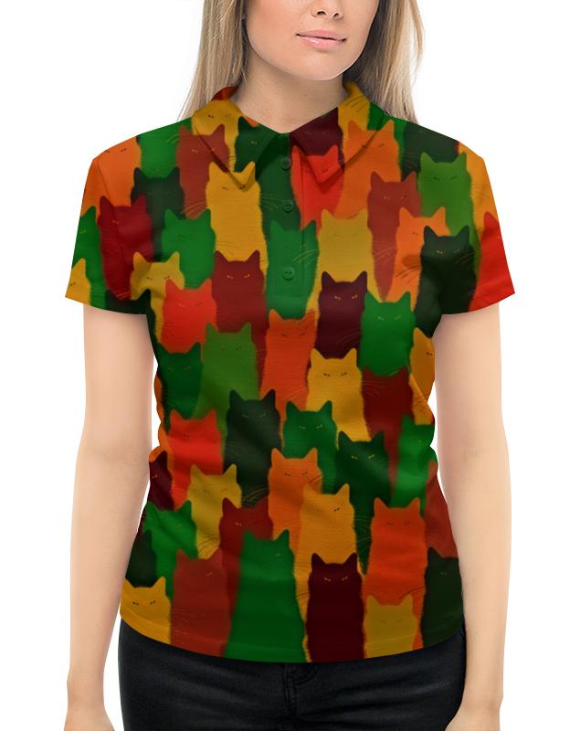Рубашка Поло с полной запечаткой Printio Домашние питомцы