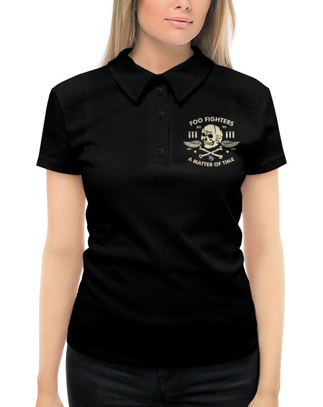 Рубашка Поло с полной запечаткой Printio Foo fighters foo fighters foo fighters skin