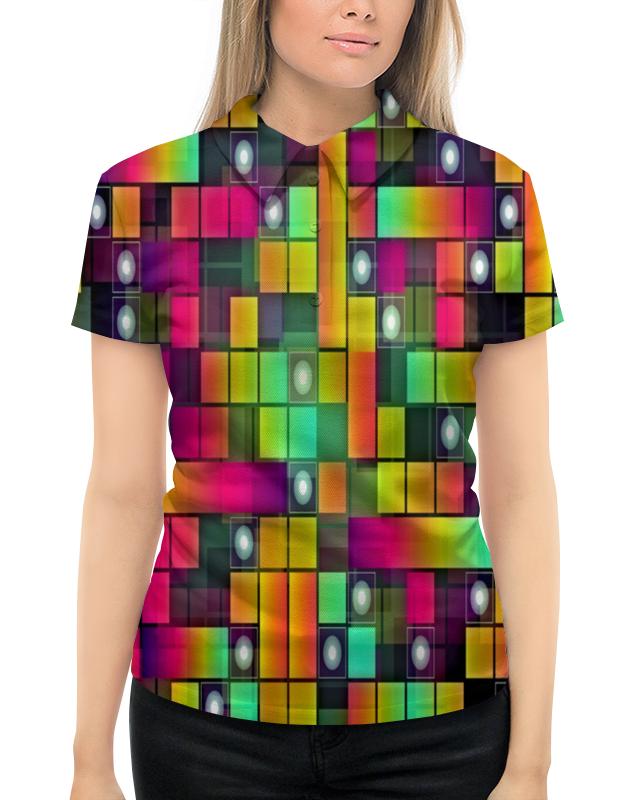 Рубашка Поло с полной запечаткой Printio Графика