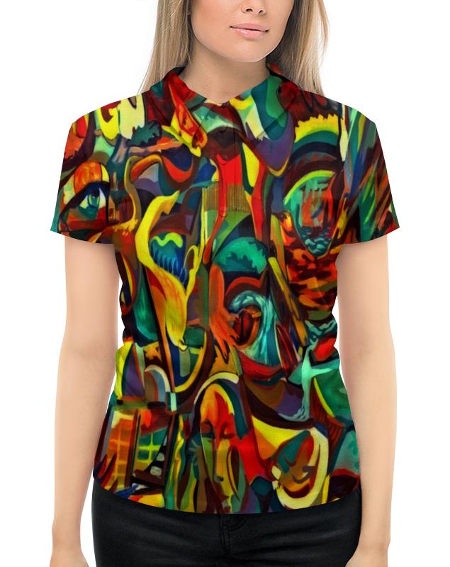 Рубашка Поло с полной запечаткой Printio Картина рубашка поло printio фк нефтехимик