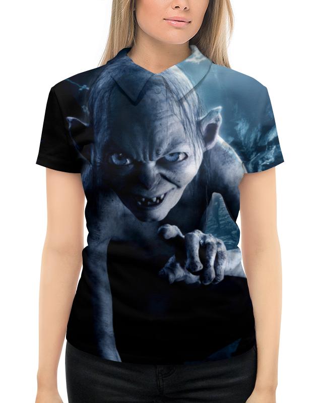 Рубашка Поло с полной запечаткой Printio Голлум цена