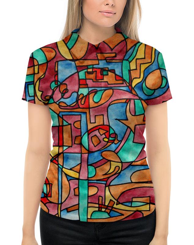 Рубашка Поло с полной запечаткой Printio Sash,ee11 свитшот мужской с полной запечаткой printio sash ee11