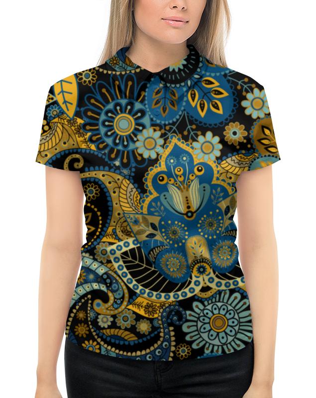 Рубашка Поло с полной запечаткой Printio Орнамент рубашка поло printio фк нефтехимик