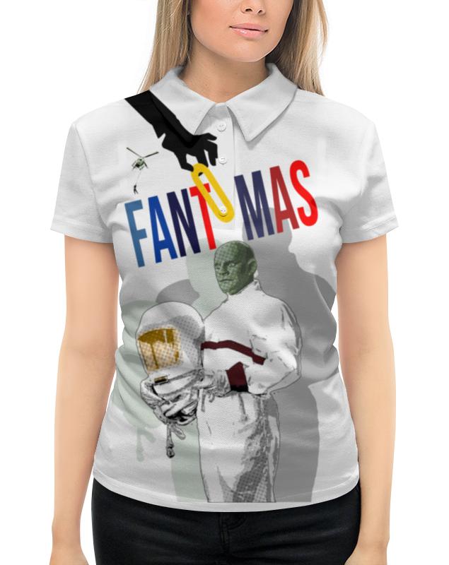 Рубашка Поло с полной запечаткой Printio Фантомас