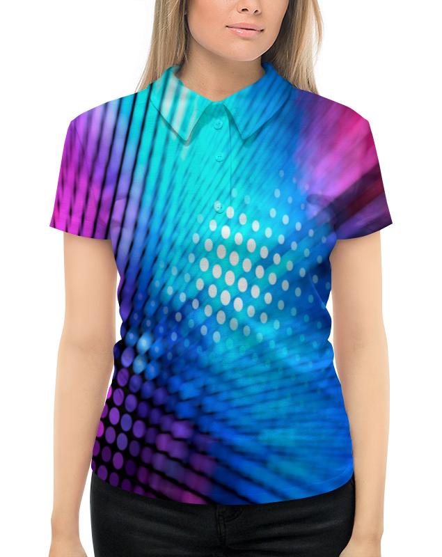 Рубашка Поло с полной запечаткой Printio Абстрактный узор поло print bar узор