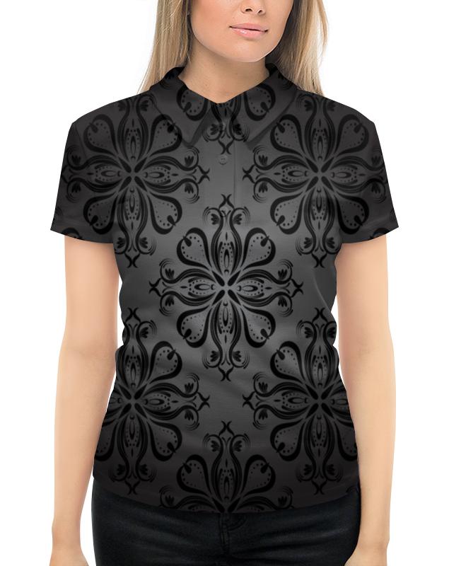 Printio Расписные узоры рубашка поло с полной запечаткой printio расписные листья
