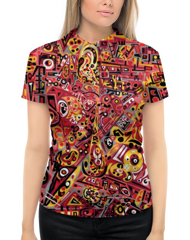 Рубашка Поло с полной запечаткой Printio Zdermm431