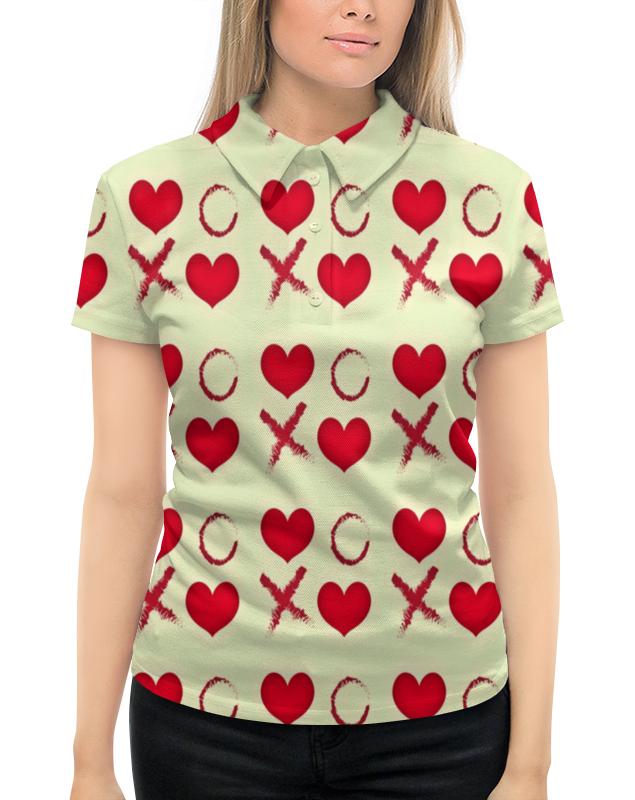 Рубашка Поло с полной запечаткой Printio Крестики-нолики толстовка с полной запечаткой printio крестики нолики